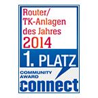 Connect-Leserwahl: 1. Platz für FRITZ!Box 7490