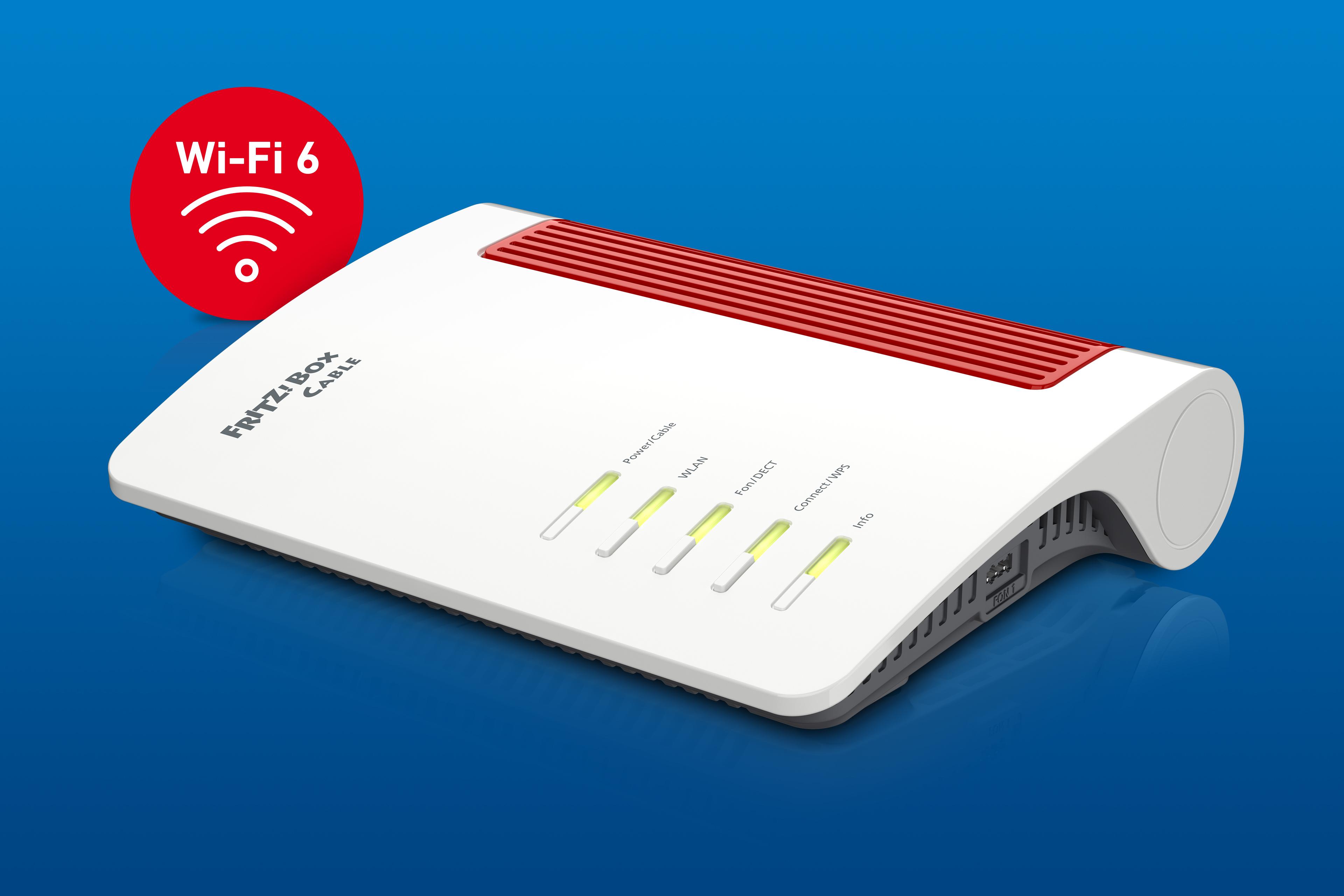 FRITZBox 200 Cable mit Wi Fi 200 und 20,20 Gigabit LAN Port   AVM ...