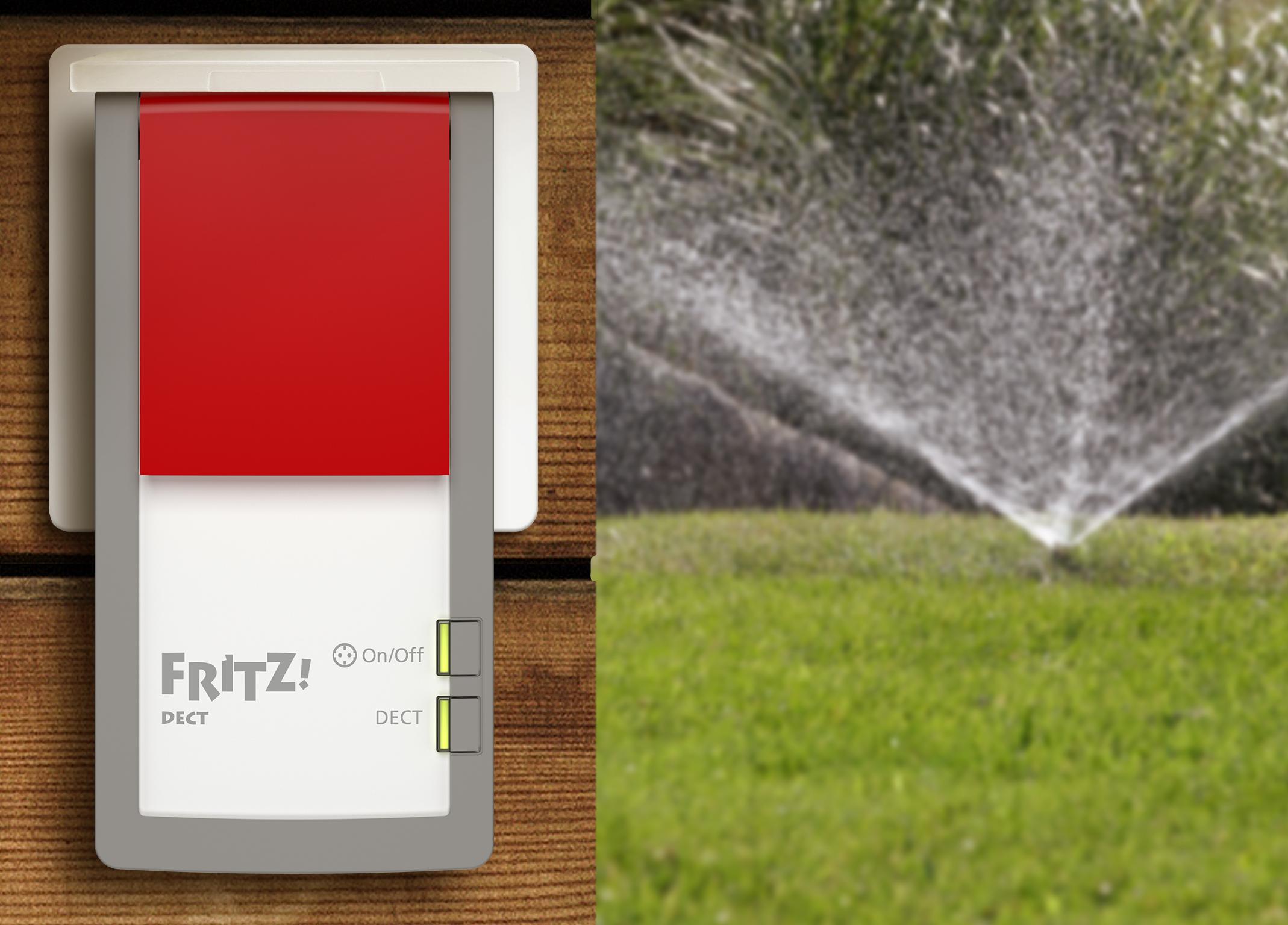 steckdosen fur den garten, smart ins neue jahr: die intelligente steckdose fritz!dect 210 für, Design ideen