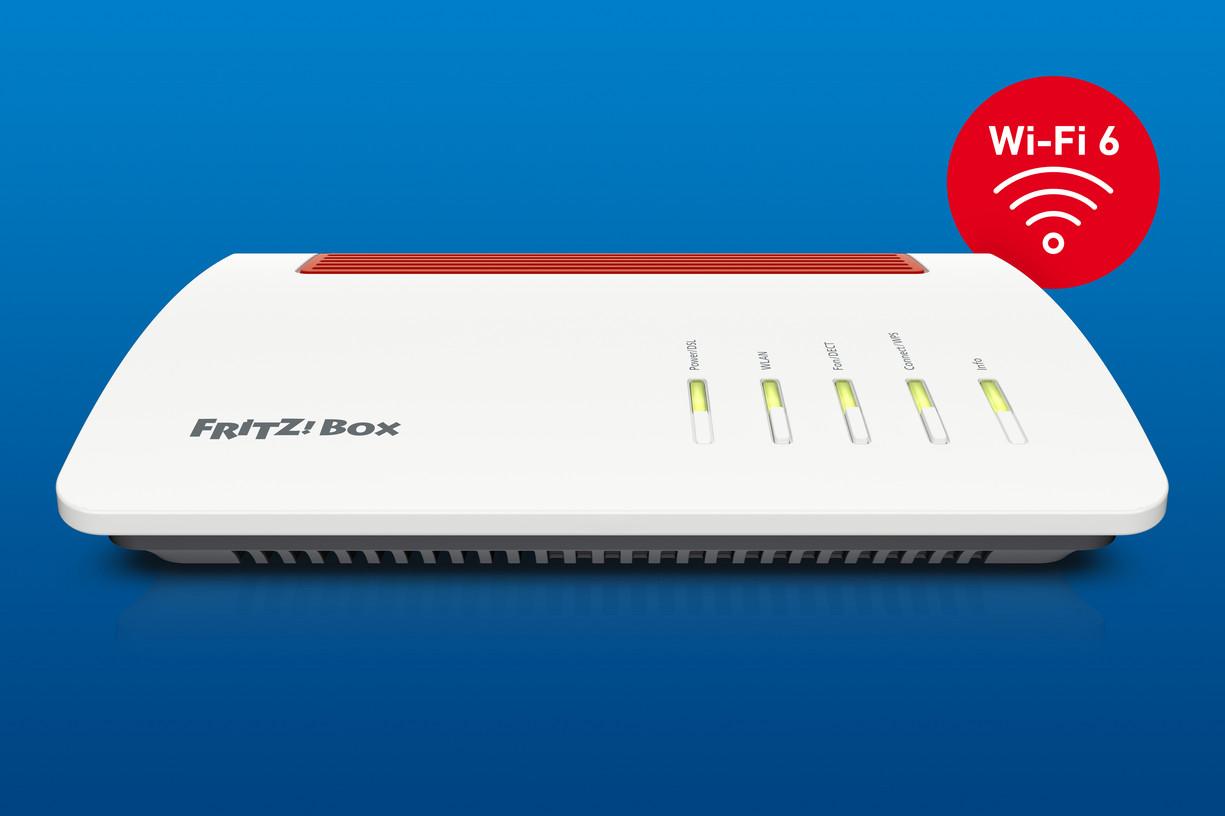 FRITZBox 20 AX – die neue Zentrale im digitalen Zuhause mit Wi ...