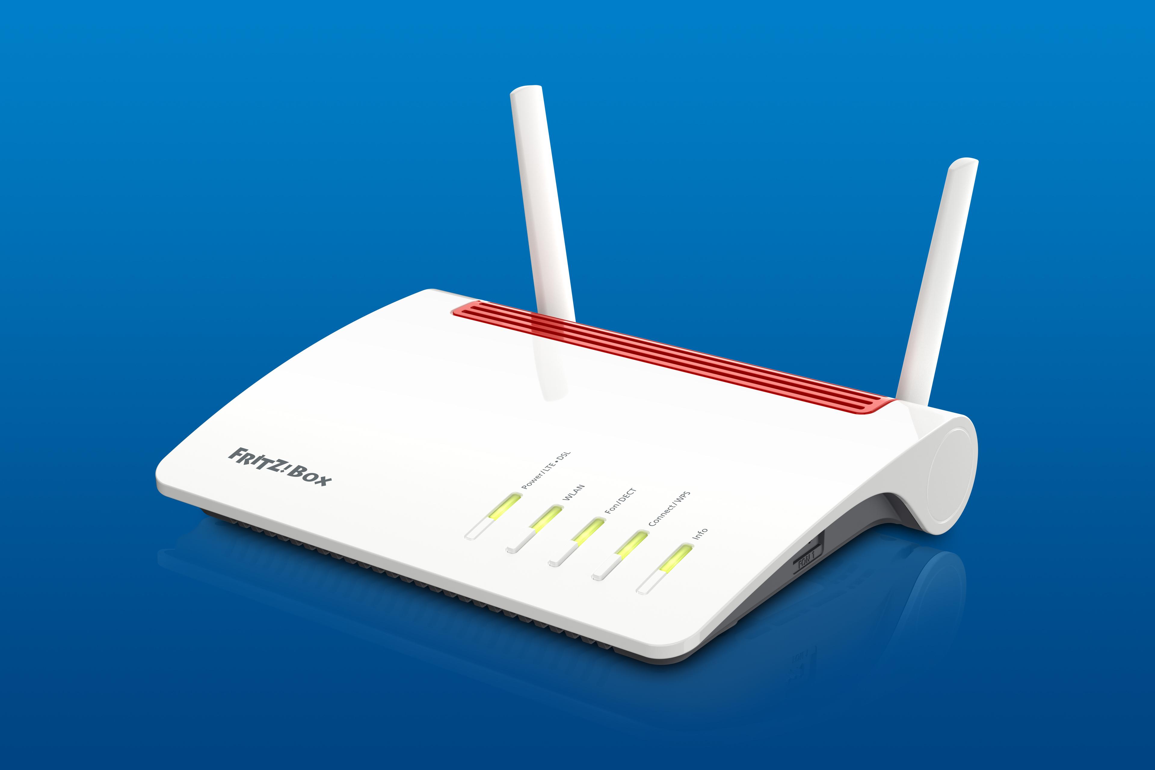 FRITZ!Box 6890 LTE für schnelles Internet über LTE oder DSL ...